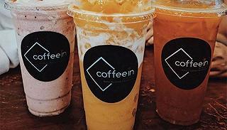 coffee in - tea & yogurt