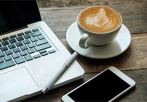 Cà phê làm việc